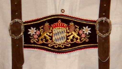 Hosenträger - Bavarian suspenders