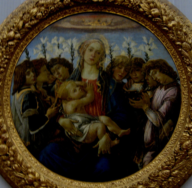 Berlin, Gemäldegalerie, Our Lady - painting (2)