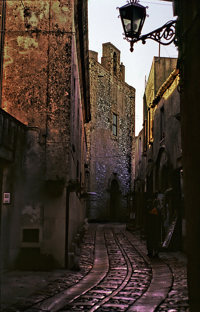 Street in Erice