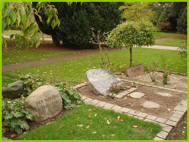 Ben Webster- 1909-1973. Cimetière de Copenhague- Copenhagen cemetery- 20 octobre 2008