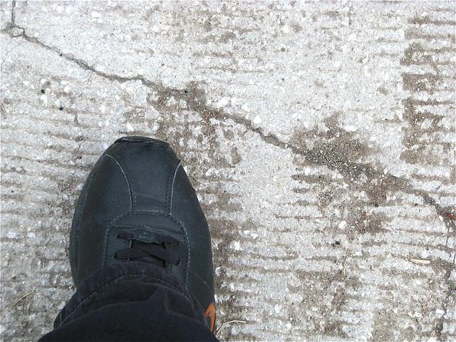 walking . . .
