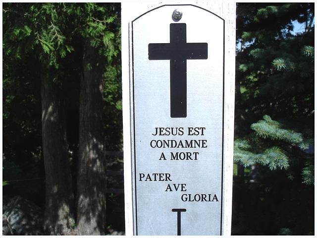 Notre-Dame de Fatima / Station I - Bas du fleuve. Québec. CANADA . 22 juillet 2005.