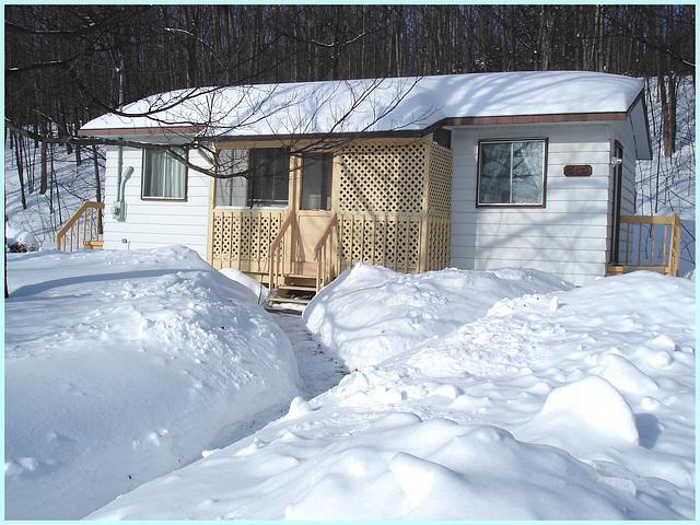 La Source / Lachute, Québec, Canada. 4 février 2010.