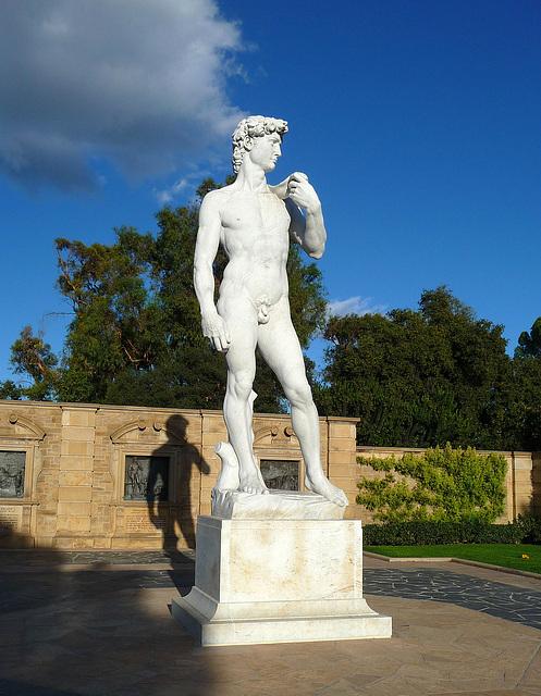 Michelangelo's 'David' - Forest Lawn Glendale (2045)