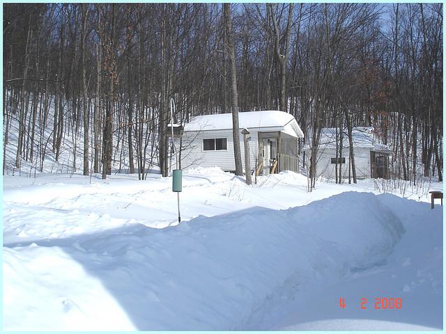 La Source- Lachute- Québec, Canada - 4 février 2008.