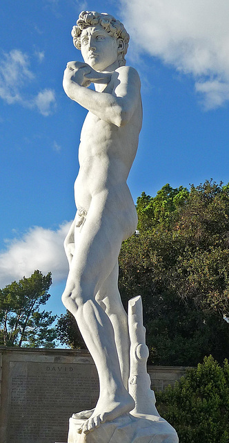 Michelangelo's 'David' - Forest Lawn Glendale (2048A)