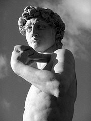 Michelangelo's 'David' - Forest Lawn Glendale (2049A)
