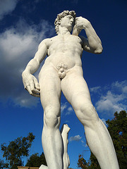 Michelangelo's 'David' - Forest Lawn Glendale (2052)