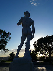 Michelangelo's 'David' - Forest Lawn Glendale (2067)