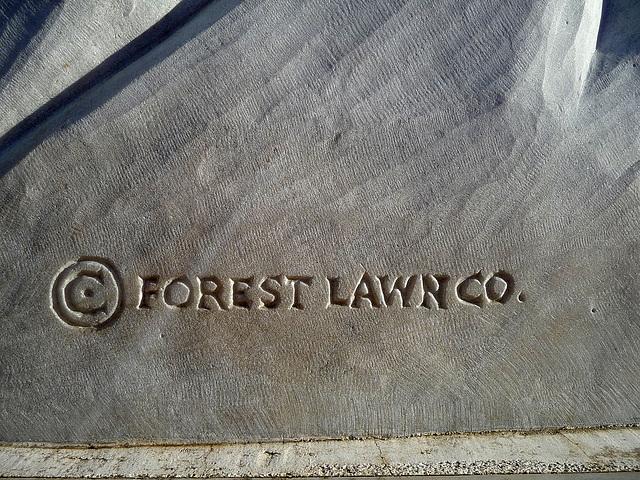 Michelangelo's 'David' - Forest Lawn Glendale Copyright (2047)