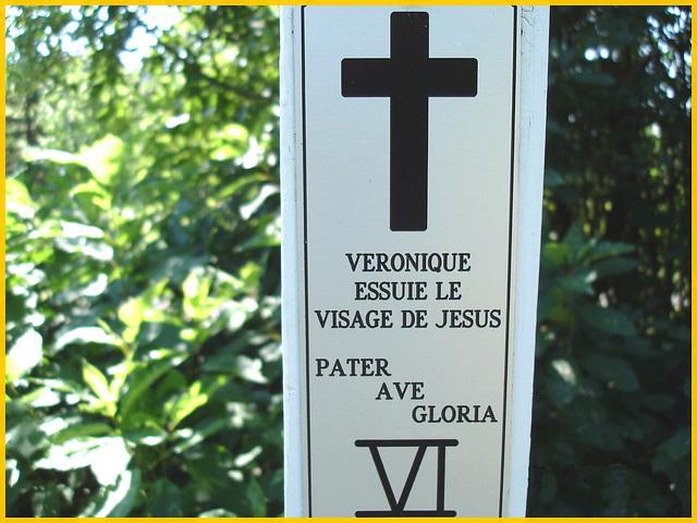 Notre-Dame de Fatima-  Station VI / Bas du fleuve. Québec. CANADA - 22 juillet 2005.