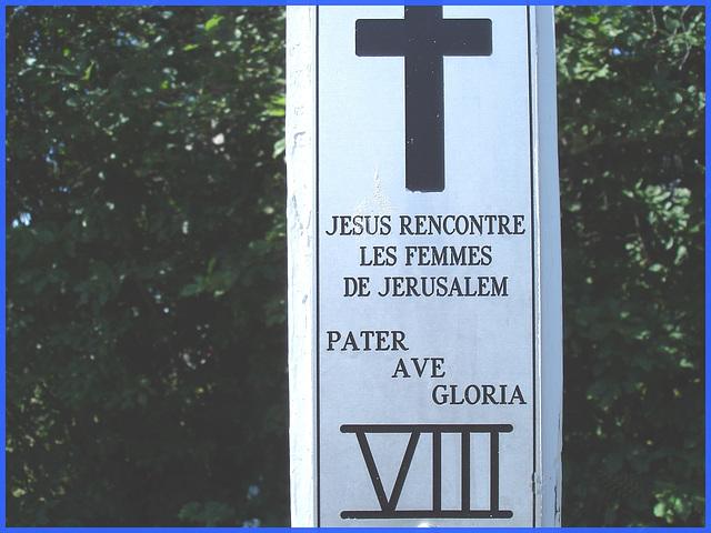 Notre-Dame de Fatima-  Station VIII / Bas du fleuve. Québec. CANADA - 22 juillet 2005.