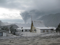 Mai 2008 : réveil du volcan Chaitén, Chili