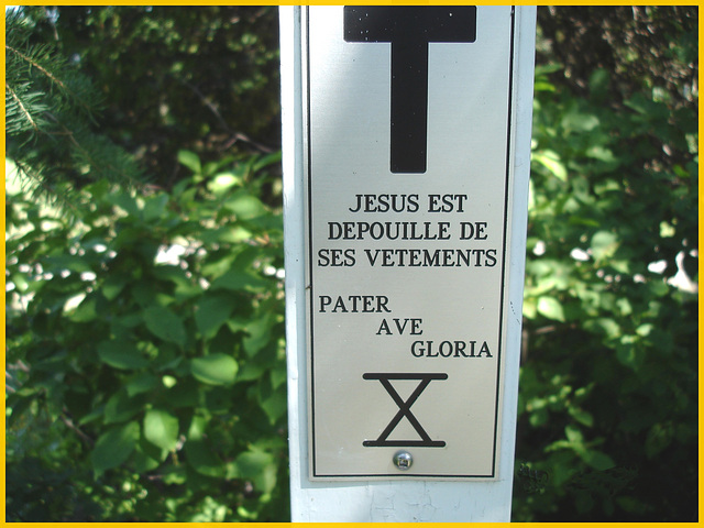 Notre-Dame de Fatima-  Station X / Bas du fleuve. Québec. CANADA - 22 juillet 2005.