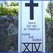 Notre-Dame de Fatima-  Station XIV. Entre Rivière-du-Loup et Rimouski- Qc, CANADA. 22 juillet 2005.