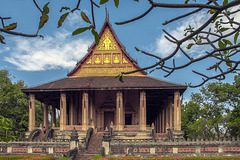 Haw Phra Kaew in Vientiane