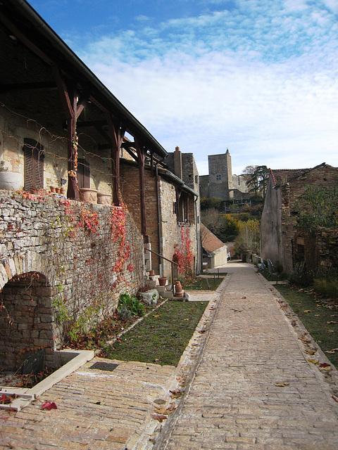 Brancion - Maisons traditionnelles