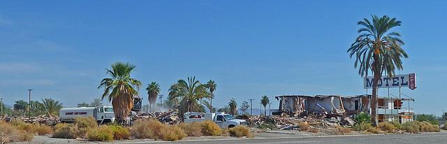 North Shore Motel Demolition (2125)
