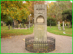 Cimetière de Helsingborg /  Helsingborg cemetery-  Suède / Sweden - Carl Hallbeck