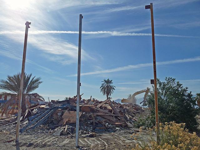 North Shore Motel Demolition (2145)