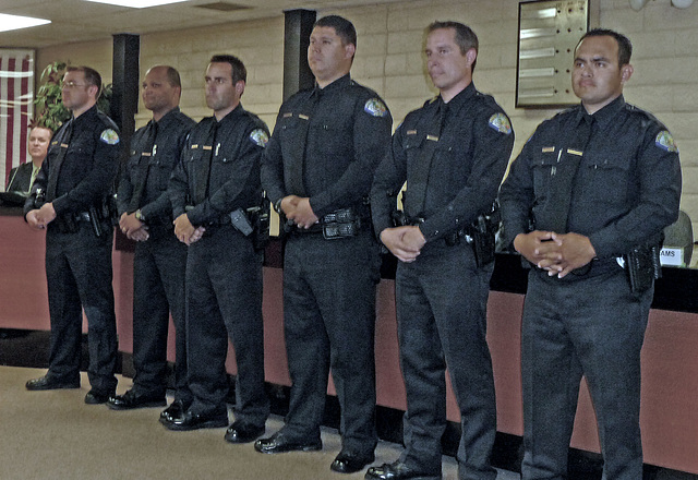 Six New Officers (3732)