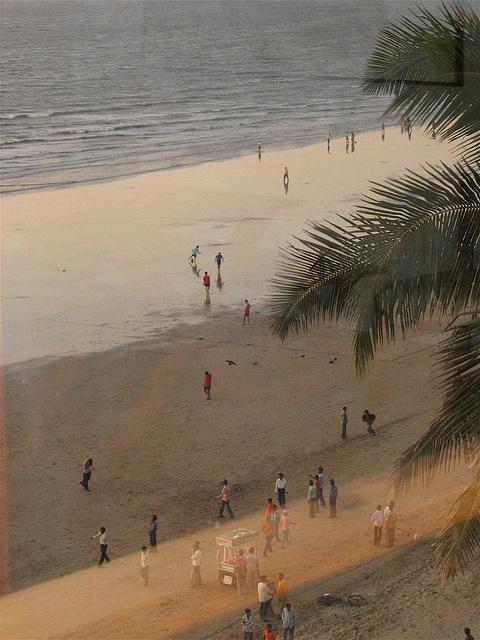 Les allants et venants de Juhu Beach