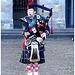 Dutch amagalm / Black & White boots & Bagpipes !  /  Bottes en noir et blanc et cornemuse - Amsterdam / 11 novembre 2007