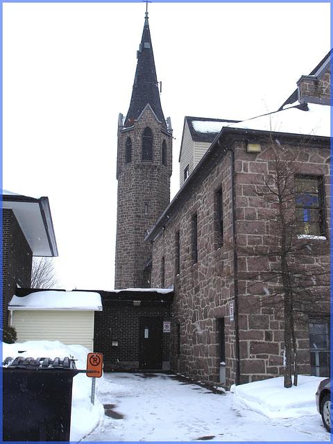 Église de Lachute's church - Québec, Canada. 6 février 2008.