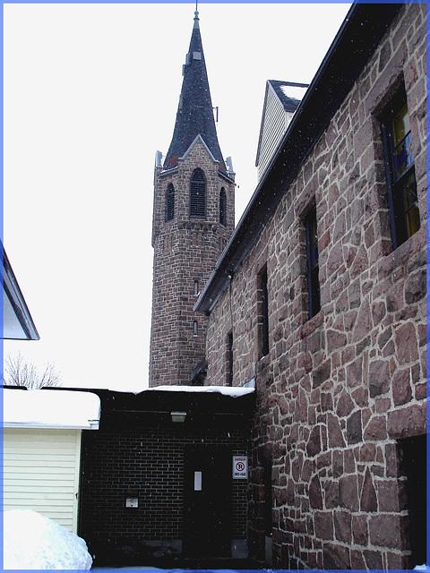 Église de Lachute's church - Québec, Canada / 6 février 2008.
