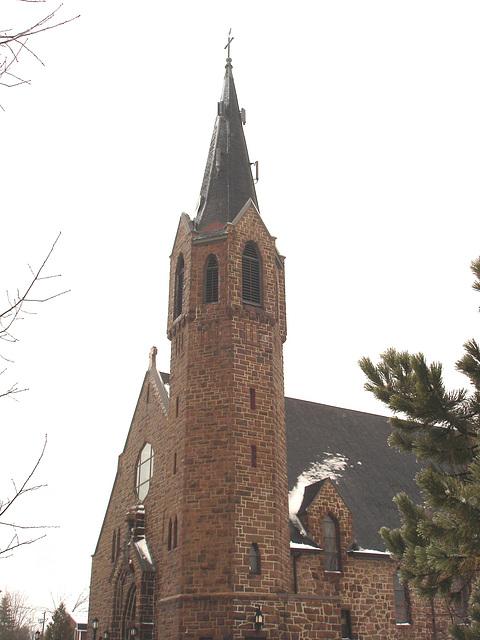 Église de Lachute's church - Québec, Canada. 5 février 2008.