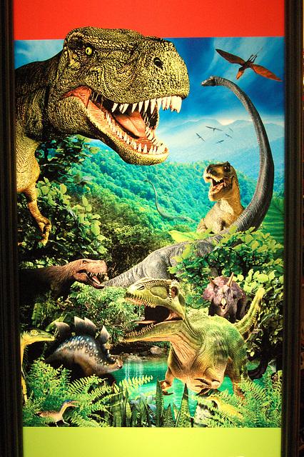 Dinosaŭroj