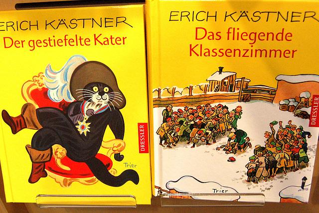 """Grimmfabelo: Virkato kun botoj + """"La fluganta klasĉambro de Kästner"""