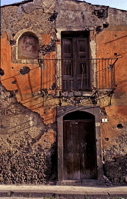 Old house in Randazzo