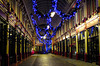 London Leadenhall Market Christmas Decorations Dec 12