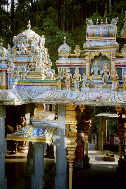 Fragmento de hinduisma templo