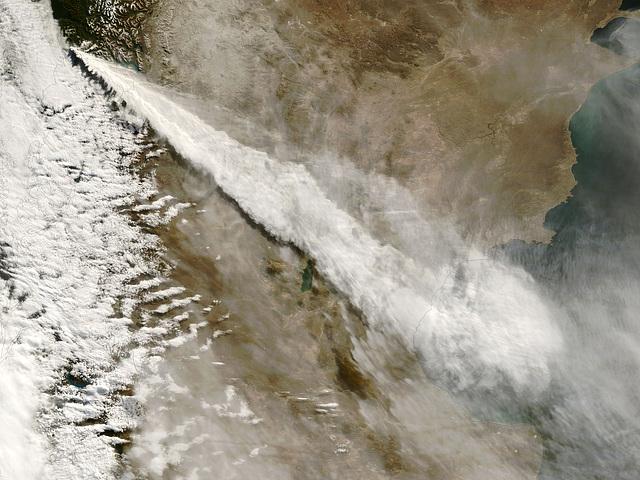 Volcan Chaitén en mai 2008, Chili