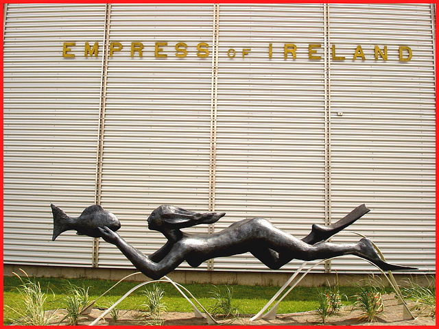 Empress of Ireland / Musée de Pointe-au-père, Québec. CANADA / 23 juillet 2005.