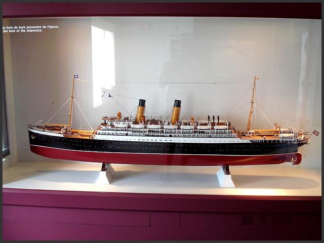 Express of Ireland - Musée de Pointe-au-Père- / Québec, CANADA. 23 juillet 2005.
