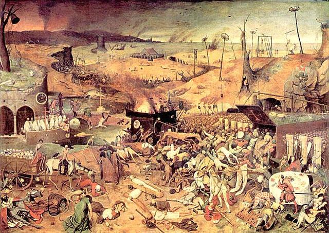 Pieter Brueghel, la pli olda: Triumfo de l' morto