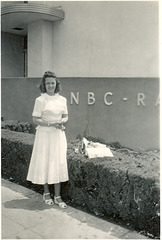 Lady at NBC-Radio