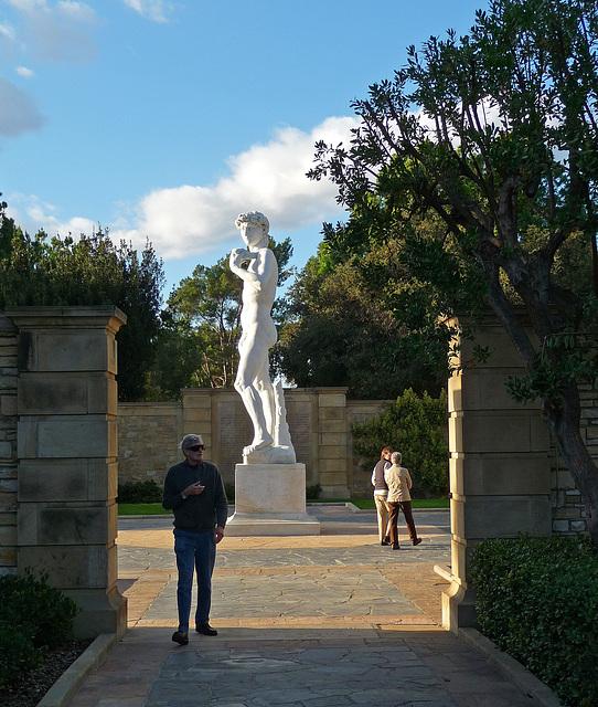 Michelangelo's David - Forest Lawn Glendale (2050)