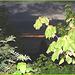 Coucher de soleil- Sunset - Domaine des cygnes - St-Jean-Port-Joli - Quebec, CANADA / 21 juillet 2005.