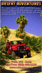 Desert Adventures Card
