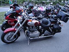 Triumph / Cegep de Rimouski - Québec, Canada.  23 juillet 2005.