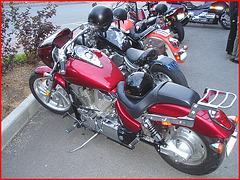 Brochettes de motos / Motorcycles kebab
