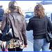 Blonde avec lulus et talons marteaux- Blond with pigtails and hammer heels- Aéroport de Montréal - 18 Octobre 2008