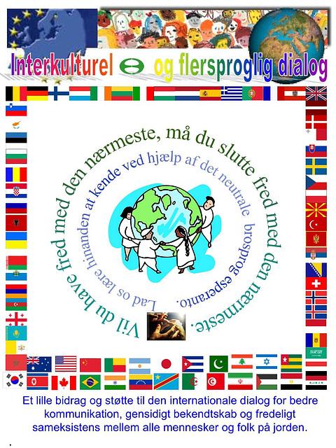 Interkultura kaj multlingva dialogo - en dana lingvo