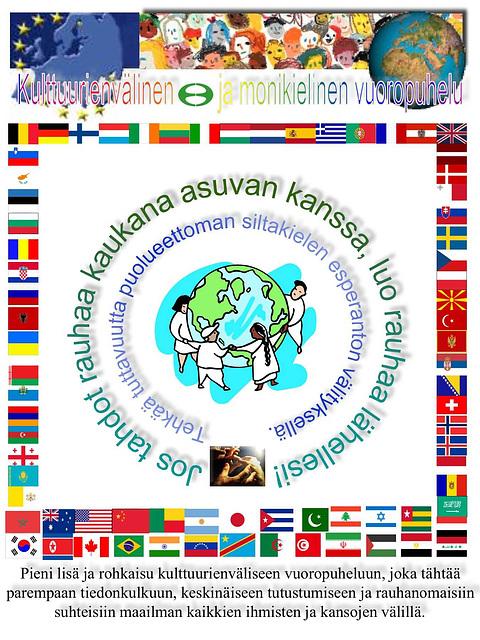 Interkultura kaj multlingva dialogo - en finna lingvo