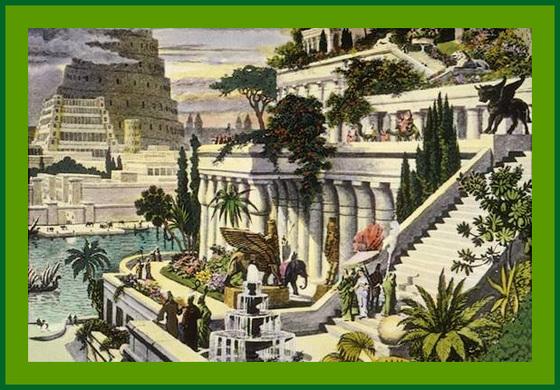 Voir les jardins de Babylone...