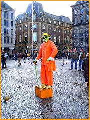 MASK Apparition / Masque en spectacle - Amsterdam - Novembre 2007.